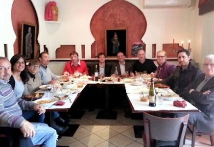Déjeuner Network du Club Plaisirs Gourmands au restaurant Le Petit Dauphin