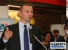 Alexandre VINCENDET, Maire UMP de Rillieux-la-Pape, soutient les entreprises du plateau