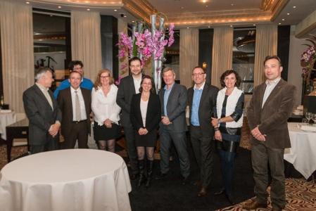 Les participants au dîner du Club Les Plaisirs Gourmands