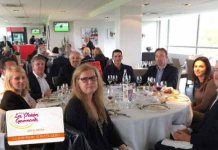 Un déjeuner network Business & RaceHorse du club Les Plaisirs Gourmands