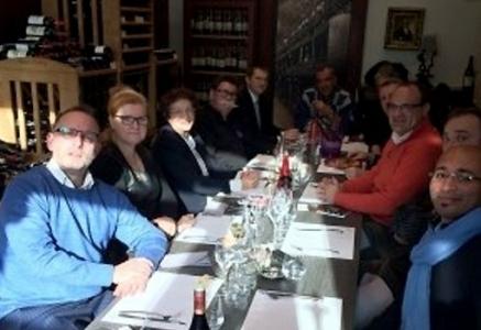 Un déjeuner network du club Les Plaisirs Gourmands