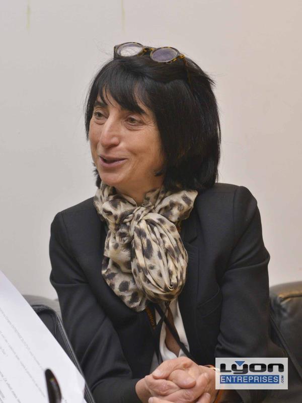 ANNE-MARIE BAEZNAER, MME « DESTINATION LYON »
