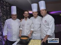 Chefs étoilés au 20 ème anniversaire des Gastronomes de Lyon au Sofitel de Lyon