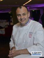 Christophe Roure, chef étoilé du restaurant le Neuvième Art à Lyon
