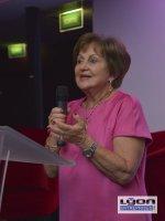 Danièle Pierrefeu, l'ancienne présidente des Gastronomes de Lyon