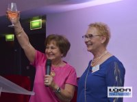Les 2 présidentes de l'association les Gastronomes de Lyon au Sofitel de Lyon