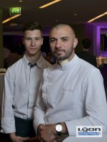 Simon Huet chef de cuisine et Emmanuel Decloitre, cuisinier du restaurant Christian Têtedoie