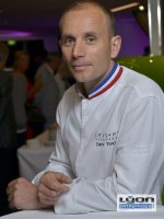 Davy Tissot, chef étoilé du restaurant SAISONS à Lyon