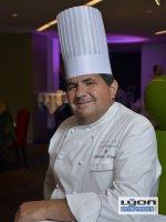 Christian Lherm, chef étoilé des 3 Domes Hotel Sofitel Lyo