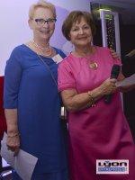 Danièle Pierrefeu et la nouvelle présidente des Gastronomes de Lyon Raymonde Payet