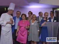 Les membres de l'association les Gastronomes de Lyon au Sofitel de Lyon